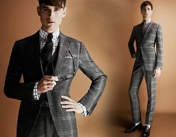 2 tom ford hiver fw 2013 2014 lookbook Tom Ford Automne hiver 2013 2014 : Un Lookbook plus Ajusté