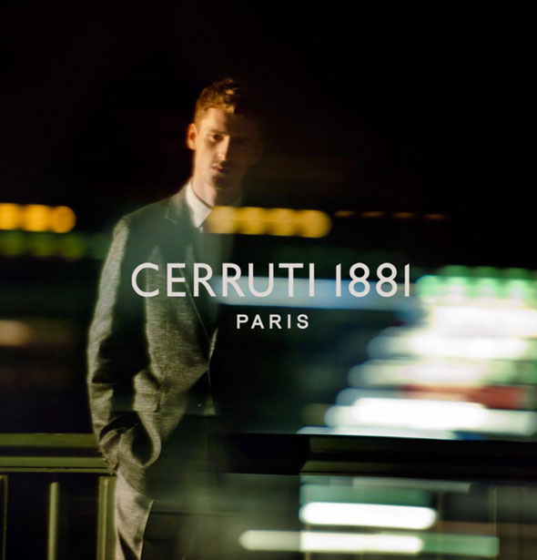 , Cerruti 1881 Printemps Ete 2013 : Campagne Parisienne