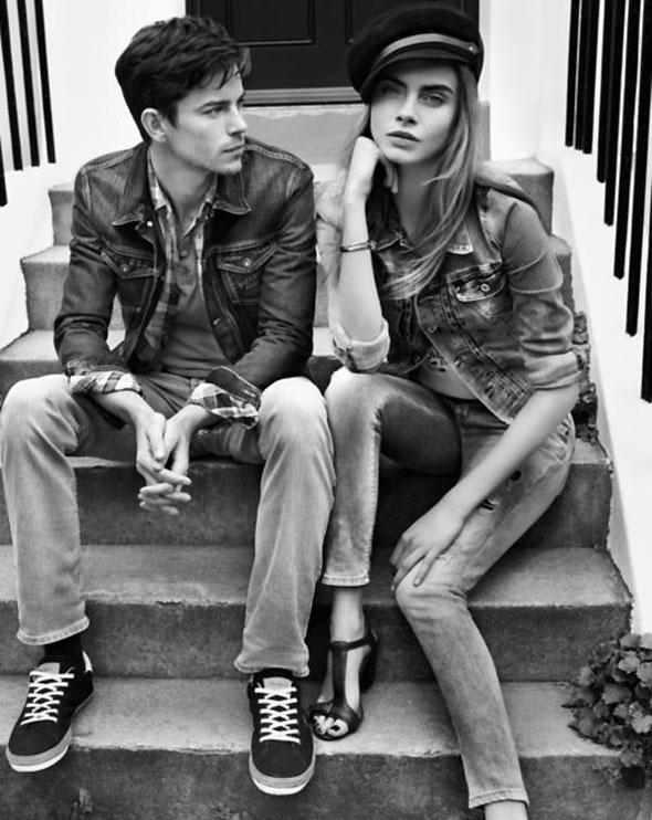 3 pepe jeans london ss ete 2013 Campagne Pepe Jeans London Printemps Ete 2013 avec Cara Delevingne