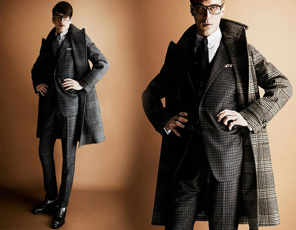3 tom ford hiver fw 2013 2014 lookbook Tom Ford Automne hiver 2013 2014 : Un Lookbook plus Ajusté
