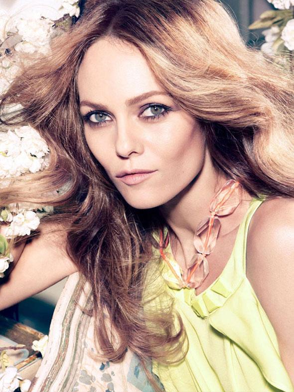 , H&M Conscious Printemps Eté 2013 : Campagne avec Vanessa Paradis