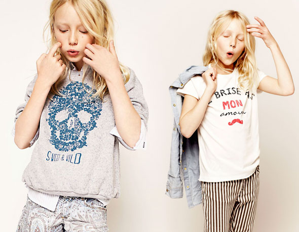 Zara Enfants Lookbook Fevrier 2013