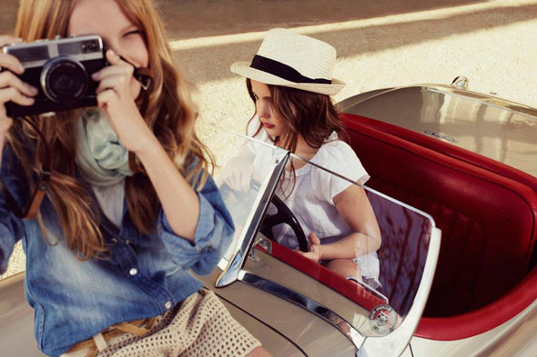 5 Massimo Dutti Boys Girl Enfant ss Ete 2013 Massimo Dutti Boys Girls Printemps Ete 2013 : En Route Pour LAventure