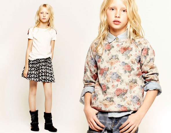 5 Zara Kids Enfants Lookbook Fevrier 2013 Zara Enfants Lookbook Fevrier 2013