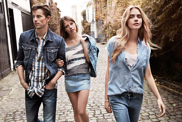 5 pepe jeans london ss ete 2013 Campagne Pepe Jeans London Printemps Ete 2013 avec Cara Delevingne