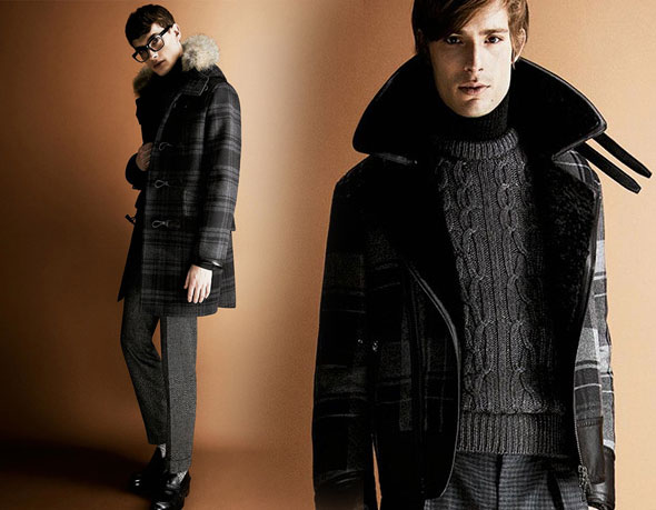 5 tom ford hiver fw 2013 2014 lookbook Tom Ford Automne hiver 2013 2014 : Un Lookbook plus Ajusté