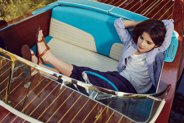 6 Massimo Dutti Boys Girl Enfant ss Ete 2013 Massimo Dutti Boys Girls Printemps Ete 2013 : En Route Pour LAventure