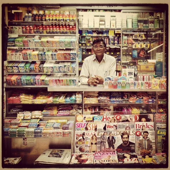 , NewsStand Project par Trevor Traynor : Kiosques à Journaux en Photo