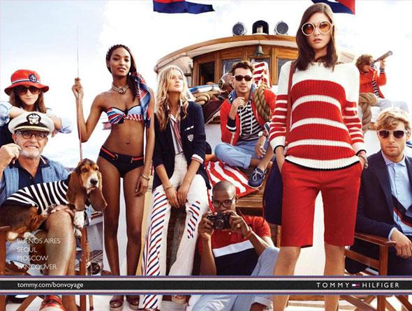 6 Tommy Hilfiger ete 2013 Pub Ad Campagne Tommy Hilfiger printemps Eté 2013 : Bon Voyage en Mer