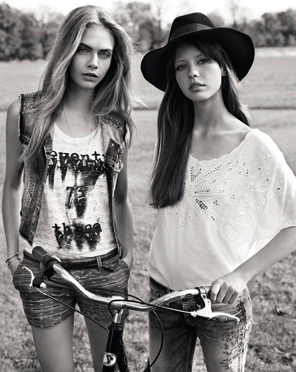 6 pepe jeans london ss ete 2013 Campagne Pepe Jeans London Printemps Ete 2013 avec Cara Delevingne