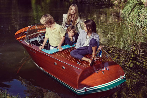 7 Massimo Dutti Boys Girl Enfant ss Ete 2013 Massimo Dutti Boys Girls Printemps Ete 2013 : En Route Pour LAventure
