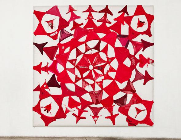 8 Underwear Mandalas Pilar Albarracin String Slip Art Underwear Mandalas par Pilar Albarracin : Kaleidoscope de Slips et Strings