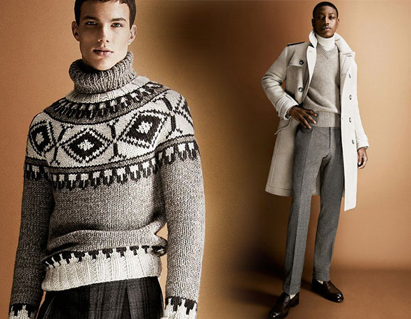 8 tom ford hiver fw 2013 2014 lookbook Tom Ford Automne hiver 2013 2014 : Un Lookbook plus Ajusté