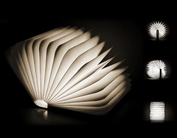 Lampe Lumio par Max Gunawan : Un Livre de Lumiere