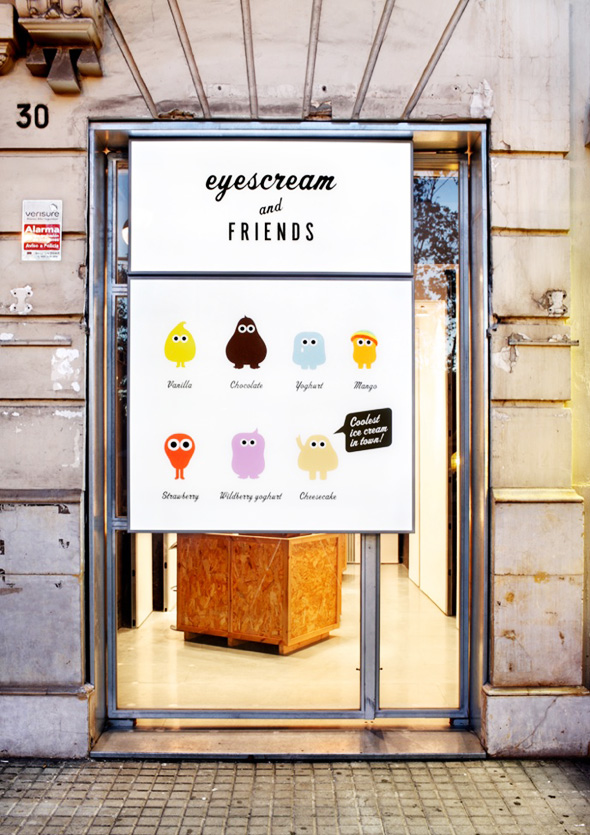 , Eyescream & Friends Barcelone : Monstrueuses Glaces aux Grands Yeux