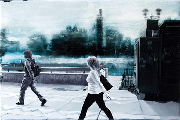 , Peintures par Francisc Chiuariu : Street et Urban Fine Art