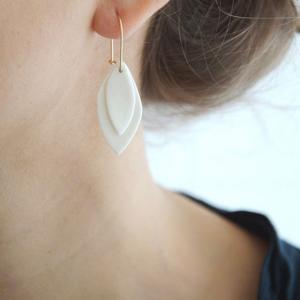 , By Loumi : Délicats Bijoux de Porcelaine Faits Main