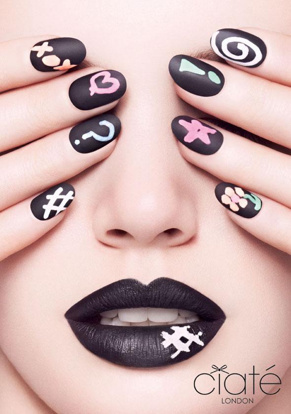 , Ciaté Manucure : l'Art des Ongles Creatifs aux Effets Ardoise