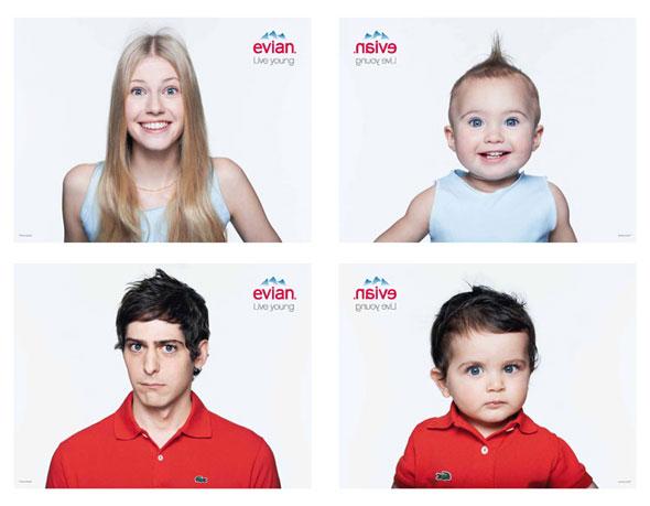 1 Evian Baby Me SS Ete 2013 Pub Ad 750 x 584 MaxiTendance com - Campagne Evian Baby & Me 2013 : Une Pub Rajeunissante (vidéo)