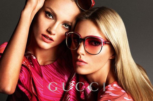 Campagne Lunettes de Soleil Gucci Printemps Ete 2013 - MaxiTendance 1584295fd661