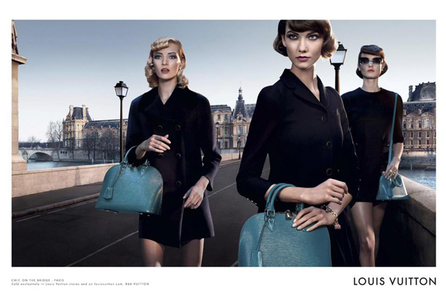 , Sac Alma Louis Vuitton Ete 2013 : Campagne Chic on the Bridge