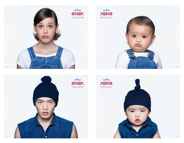 2 Evian Baby Me SS Ete 2013 Pub Ad 750 x 584 MaxiTendance com - Campagne Evian Baby & Me 2013 : Une Pub Rajeunissante (vidéo)