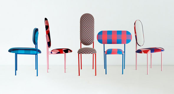 2 Marc Jacobs Nina Tosltrup Re Imagined Chaises Chair MaxiTendance com Marc By Marc Jacobs x Nina Tolstrup Re Imagined : Collection de Chaises Fashion
