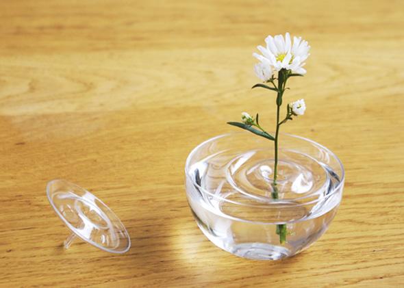 2 Ripple OODesign Vase Flottant Floating - Ripple, Petit Vase Flottant Transparent par OO Design