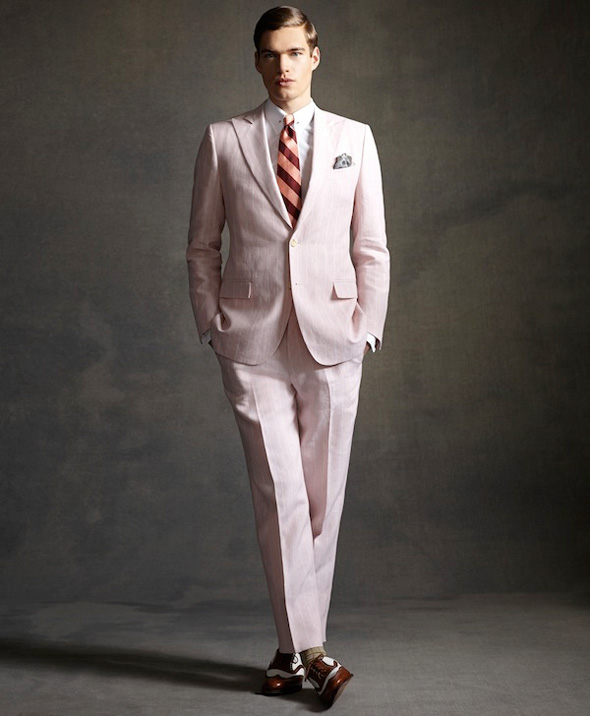 , Brooks Brothers Homme Ete 2013 : Collection Gatsby Le Magnifique