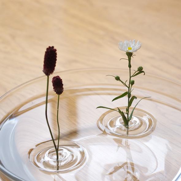 4 Ripple OODesign Vase Flottant Floating - Ripple, Petit Vase Flottant Transparent par OO Design