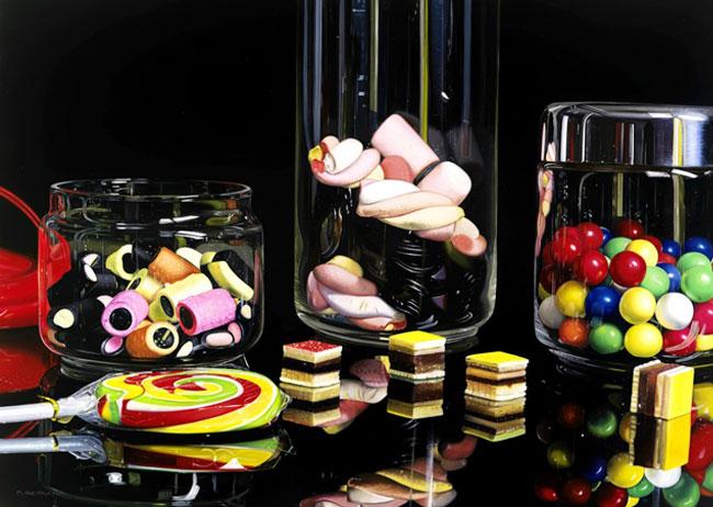 , Peintures par Roberto Bernardi : Un Réalisme Photographique