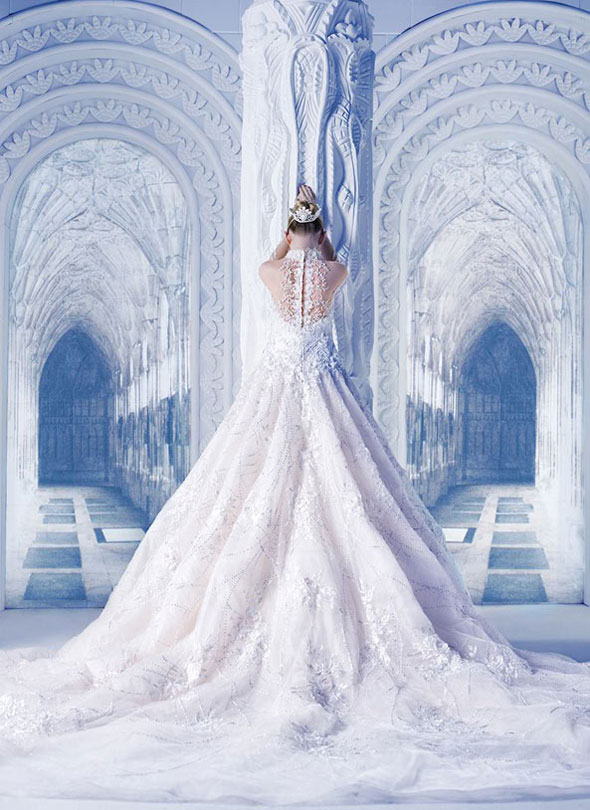 , Michael Cinco : Robes de Mariées Couture Printemps Eté 2013
