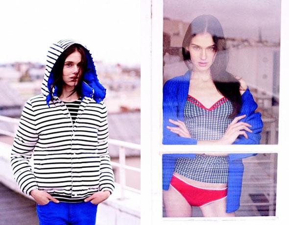 , Kitsune x Petit Bateau Femme : Collection Automne Hiver 2013 2014