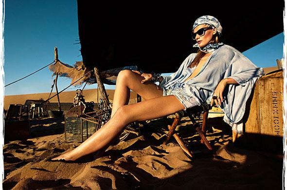 , Stradivarius Printemps Eté 2013 : Une Campagne dans le Desert