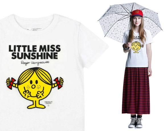 , Chocoolate x Mr. Men & Little Miss : Retour de Mr Bonhomme sur les T-Shirts