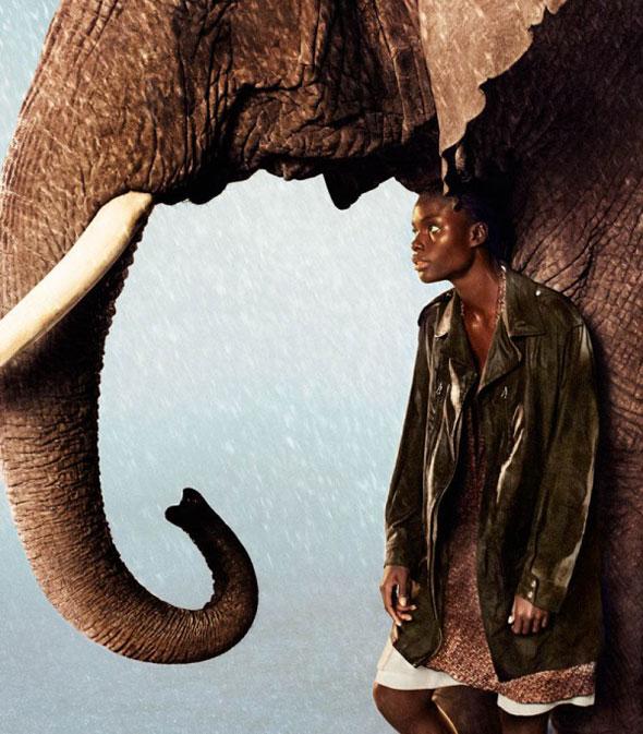 , Campagne Edun Printemps Eté 2013 : Escapade Africaine sous la Pluie