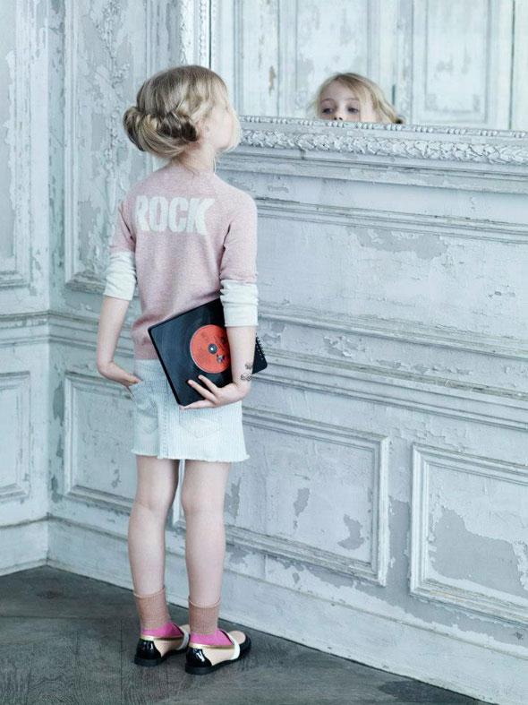 , Zadig & Voltaire Enfants Eté 2013 : Look Book Glam Rock