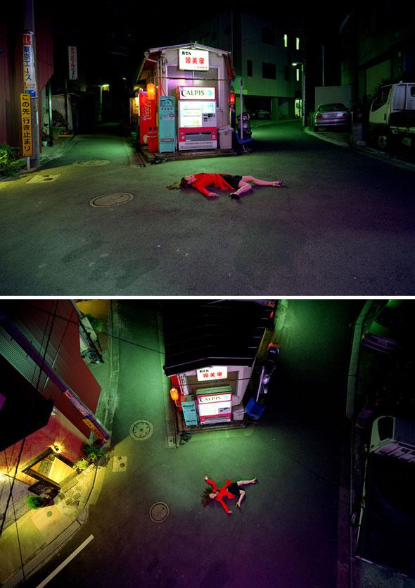 , Landscape with a Corpse par Kaoru Izima : Victimes de la Mode en Photos