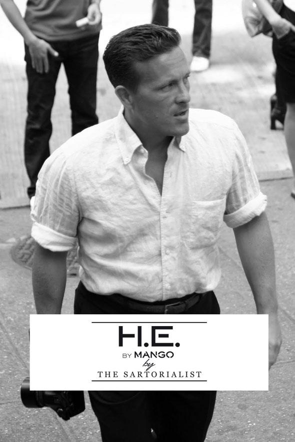 , Le Sartorialist et Photographe Scott Schuman chez Mango pour l'Hiver 2013