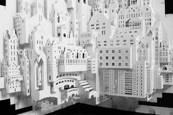 Préférence Ingrid Siliakus : Monuments et Architecture en Papier - MaxiTendance EC52