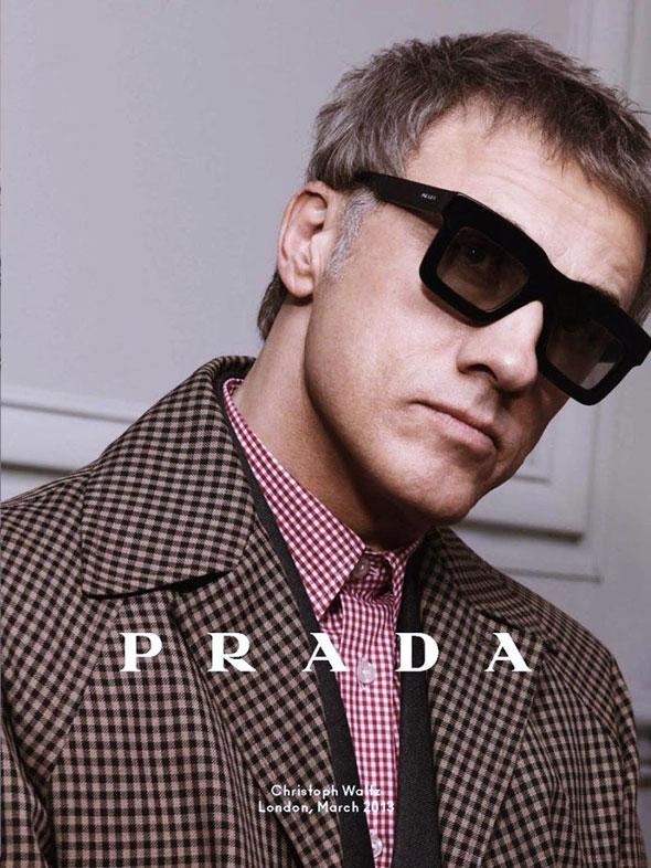 Populaire Prada Eyewear Homme Hiver 2013 2014 : Lunettes de Soleil et de Vue  DN53