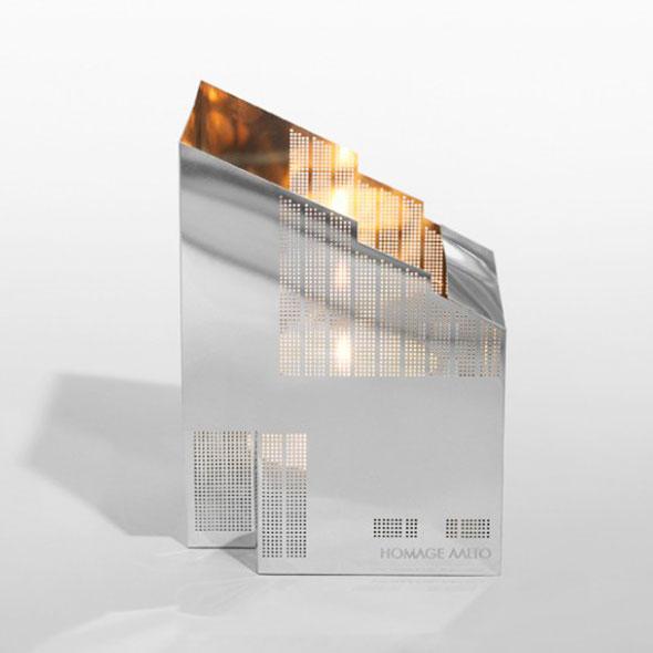 , Lanternes Architecturales pour Mini Bougies par Marita Lord