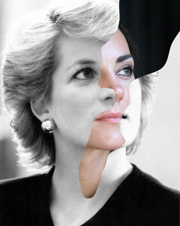 , Then & Now par Marc Ghali : Célébrités d'Hier et d'Aujourd'hui Associées en un Portrait