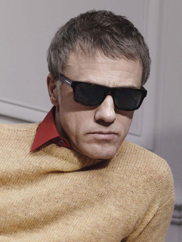 , Campagne Prada Homme Hiver 2013 2014 avec Christoph Waltz