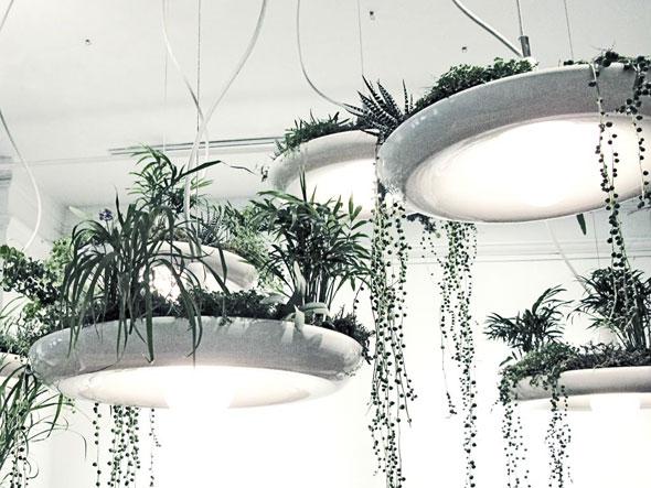 , Babylon Lampe Jardin Suspendu par Object Interface