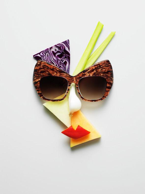 Fruits et Legumes et Lunettes Soleil Ete 2013 par Philip Karlberg