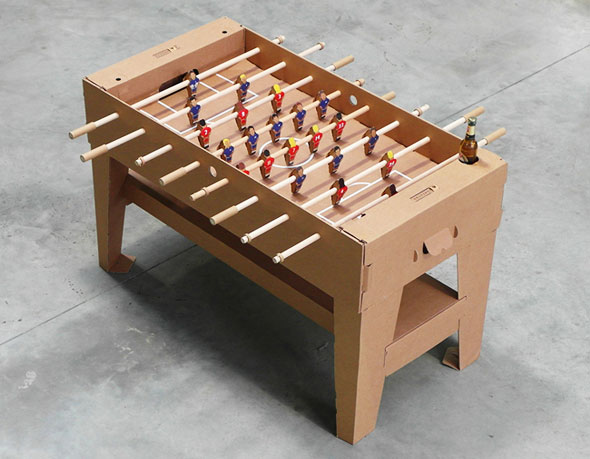 3-foosball-cardboard--Kickpack-Kartoni-Baby-foot-Carton-Recycle