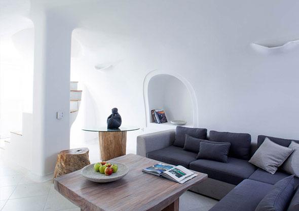 5 Native Eco Villa Imerovigli Santorini Italie - Native Eco à Imerovigli Santorini Grece : Villa Paradisiaque et Ecologique