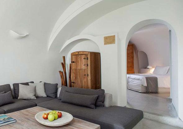 6 Native Eco Villa Imerovigli Santorini Italie - Native Eco à Imerovigli Santorini Grece : Villa Paradisiaque et Ecologique