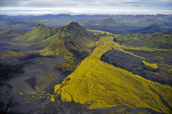, Spectaculaires Photos Aériennes de l'Islande par Andre Ermolaev